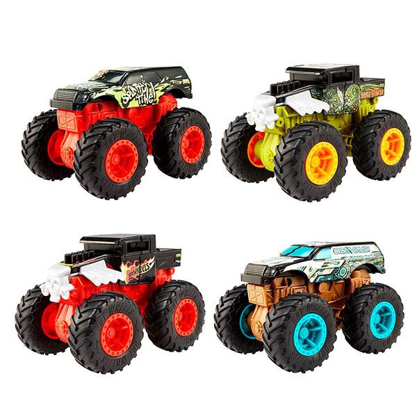 Купить Mattel Hot Wheels GCF94 Хот Вилс Монстр трак 1:43, Игрушечные машинки и техника Mattel Hot Wheels