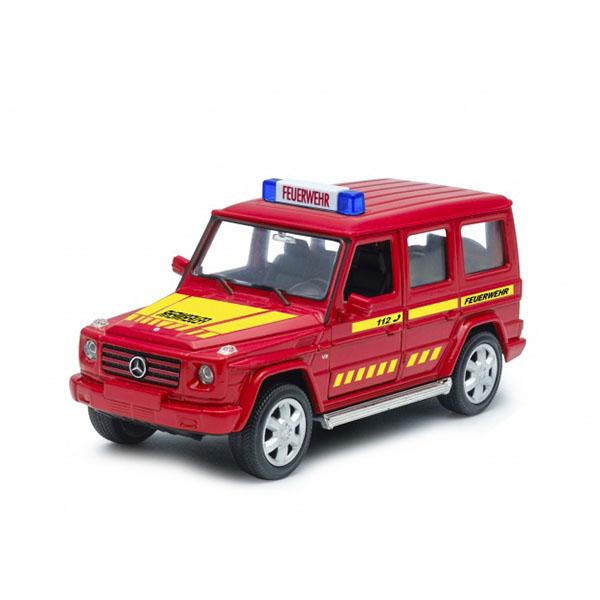 Купить Welly 39889GF Велли Модель машины Mercedes-Benz G-CLASS Пожарная, Машинка Welly