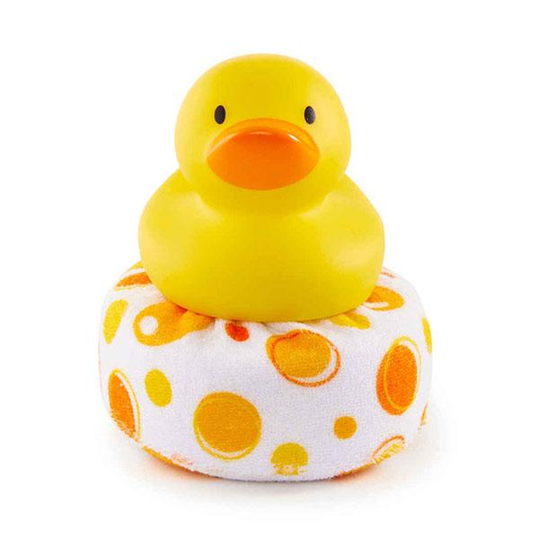 Купить MUNCHKIN 110100 NEW Мочалка для ванны Уточка , Детские игрушки для ванной MUNCHKIN