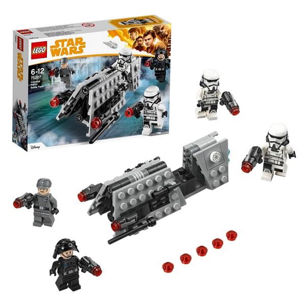 Купить Lego Star Wars 75207 Конструктор Лего Звездные Войны Боевой набор Имперского Патруля, Конструкторы LEGO