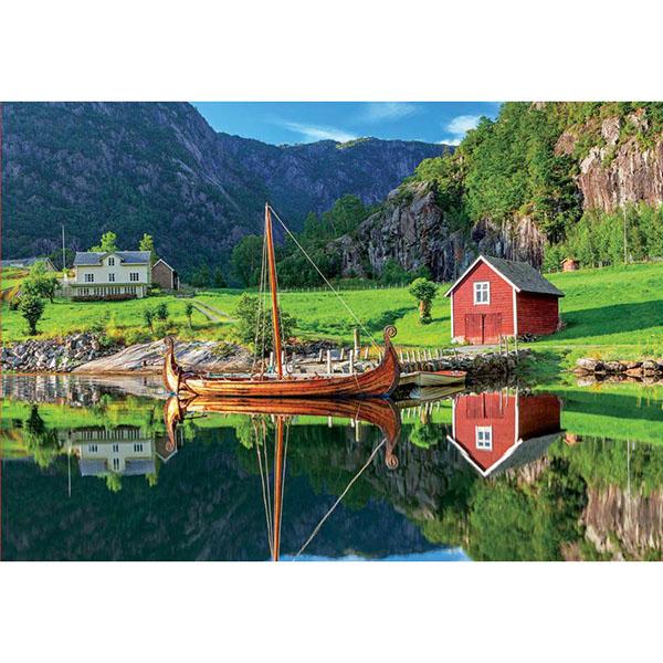 Купить Educa 18006P Пазл 1500 деталей Корабль викингов , Пазлы Educa