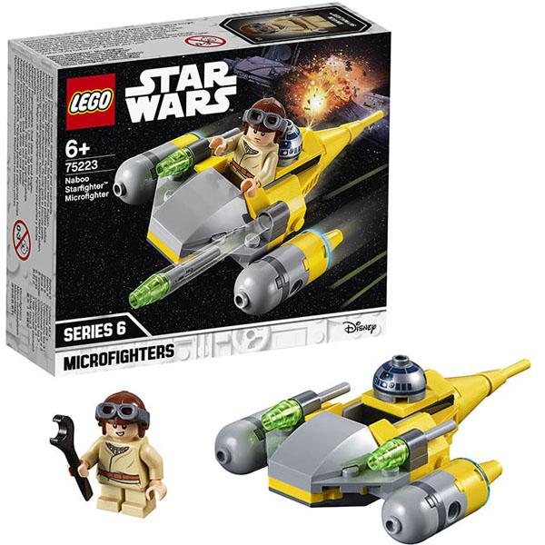 Купить Lego Star Wars 75223 Конструктор Лего Звездные войны Микрофайтеры: Истребитель с планеты Набу, Конструктор LEGO
