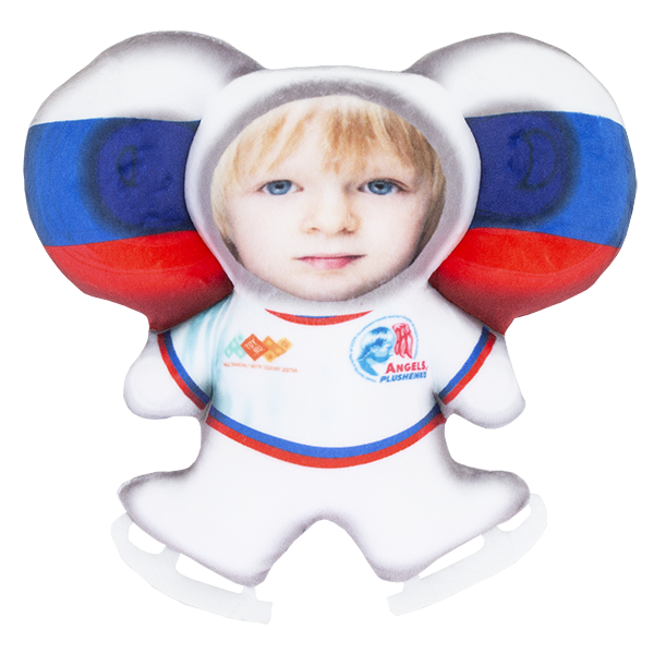 Мягкие игрушки Чебусашка — Чебусашка LVY021 Игрушка-подушка