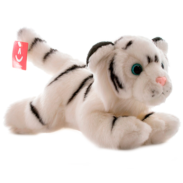 Купить Aurora 300-18 Аврора Тигр белый, 28 см, Мягкая игрушка Aurora