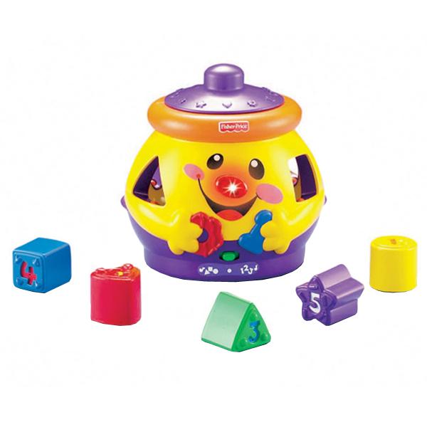 Купить Mattel Fisher-Price K2831 Фишер Прайс Волшебный горшочек, Развивающие игрушки для малышей Mattel Fisher-Price