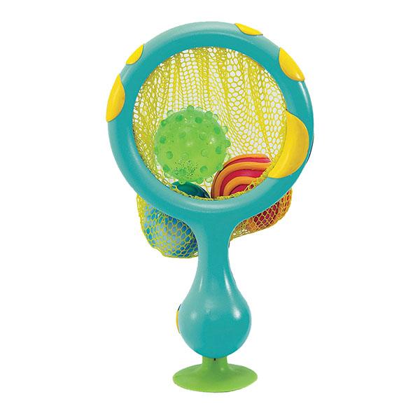 Купить MUNCHKIN 12004D Игрушка для ванны 2 в 1 Кольцо с мячиками-брызгалками, Игрушки для ванной MUNCHKIN