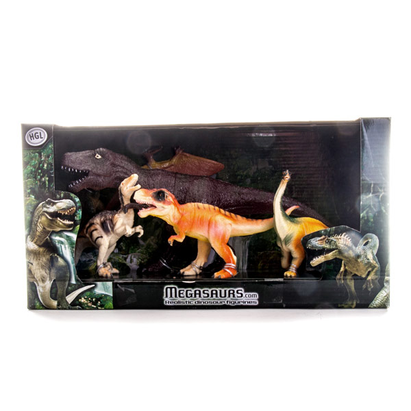 Набор фигурок Megasaurs (HGL) - Динозавры, артикул:120606