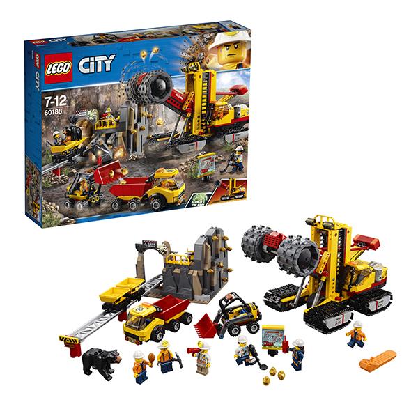 LEGO City 60188 Конструктор ЛЕГО Город Шахта, Конструктор LEGO  - купить со скидкой