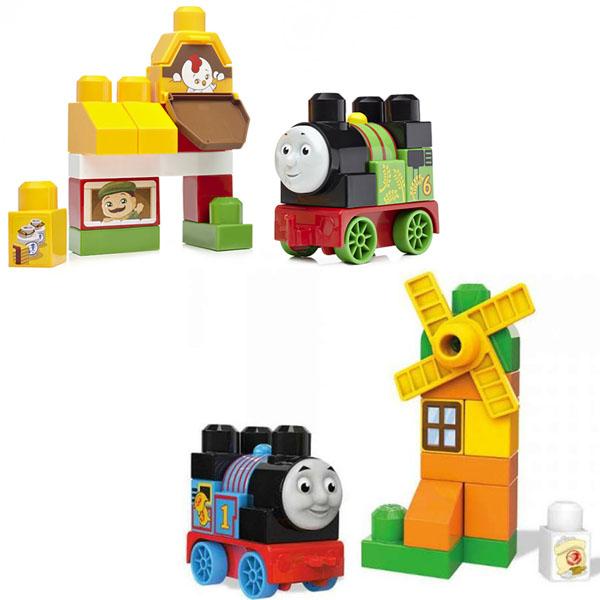 Mattel Mega Bloks DXH52 Мега Блокс Томас и друзья: достопримечательности Содора - Игрушки для малышей