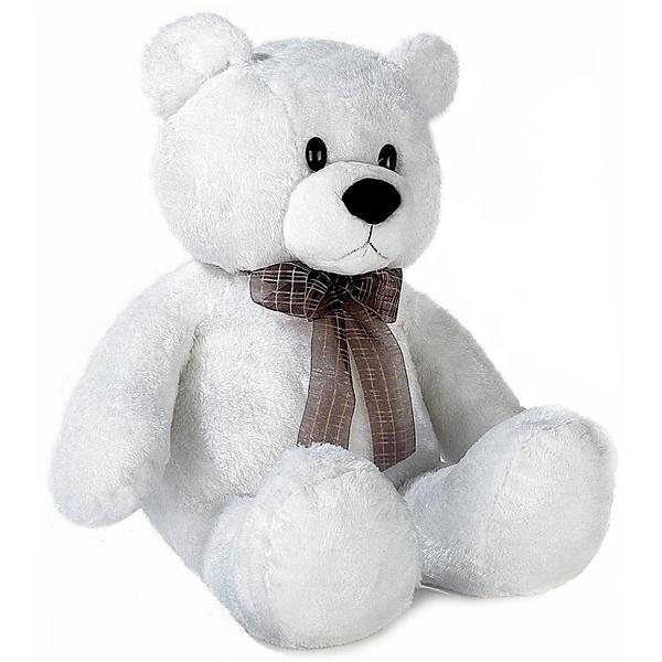 Aurora 21-611 Аврора Медведь белый сидячий, 74 см