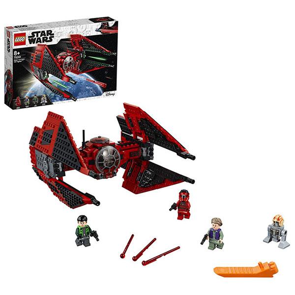 Купить LEGO Star Wars 75240 Конструктор ЛЕГО Звездные Войны Истребитель СИД Майора Вонрега, Конструкторы LEGO
