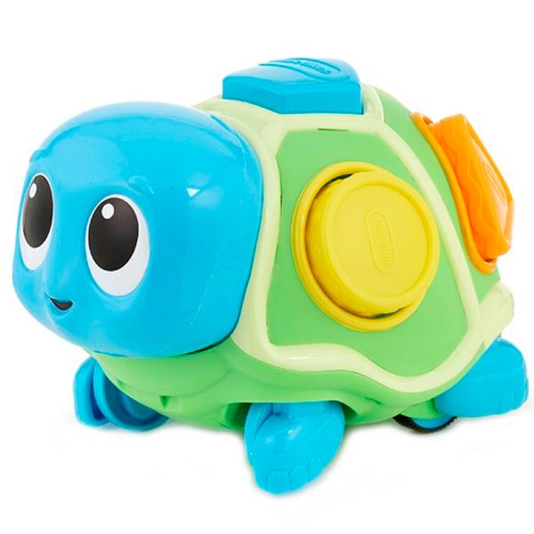 Little Tikes 638497 Литл Тайкс Ползающая черепаха-сортер, звуковые эффекты