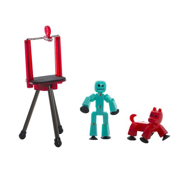 Купить Stikbot TST615A Стикбот Студия с питомцем, Игровые наборы и фигурки для детей Stikbot