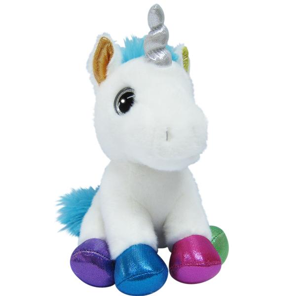Мягкие игрушки Aurora Aurora 171136D Единорог разноцветный, 20 см по цене 559
