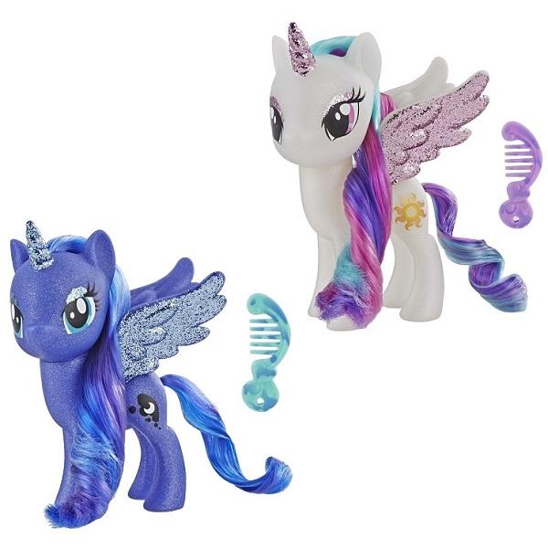 Игровые наборы и фигурки для детей Hasbro My Little Pony Hasbro My Little Pony E5892 Май Литл Пони с разноцветными волосами (в ассортименте) по цене 1 899