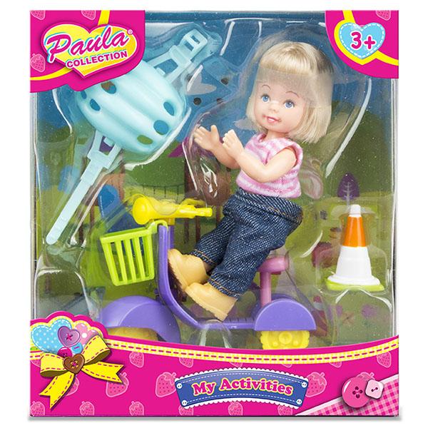 Купить Paula MC23011 Игровой набор На мопеде , Игровые наборы и фигурки для детей Paula