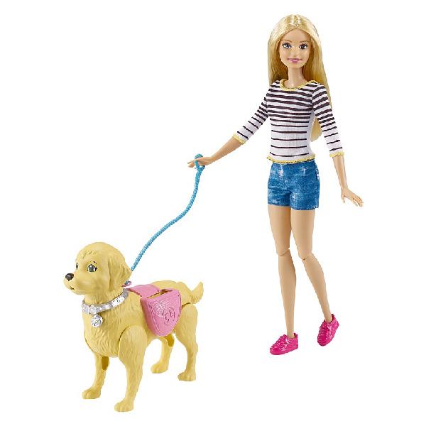 Купить Mattel Barbie DWJ68 Барби Игровой набор Прогулка с питомцем , Кукла Mattel Barbie