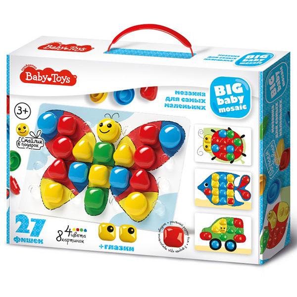 Купить BABY TOYS TD02520 Мозаика для самых маленьких, (27 эл.), Мозаика Десятое Королевство