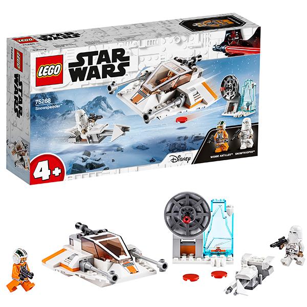 Купить LEGO Star Wars 75268 Конструктор ЛЕГО Звездные войны Снежный спидер, Конструкторы LEGO