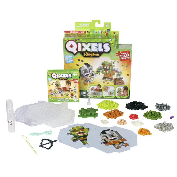 Купить Qixels 87110 Квикселс Набор для творчества Атака троллей , Набор для творчества Qixels