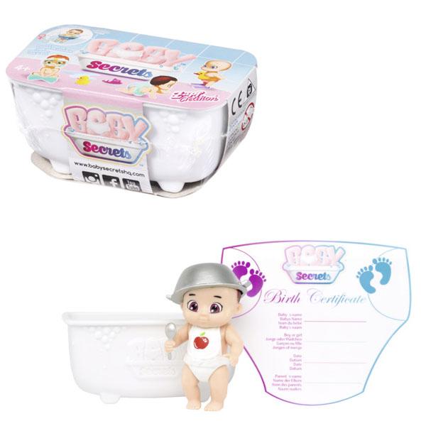 Купить Zapf Creation Baby Secrets 930-137 Бэби Секрет Кукла с ванной, Куклы и пупсы Zapf Creation