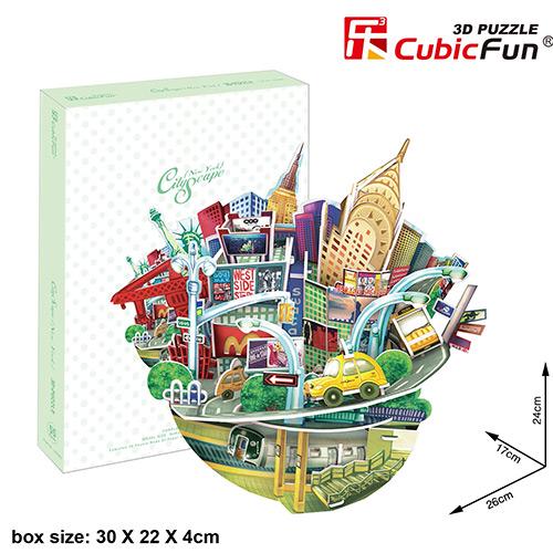 Cubic Fun OC3203h Кубик фан Городской пейзаж - Нью-Йорк
