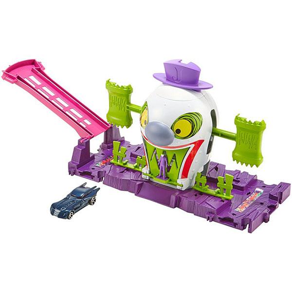Купить Mattel Hot Wheels GBW51 Хот Вилс Готэм Сити игровые наборы Джокер, Игровые наборы и фигурки для детей Mattel Hot Wheels