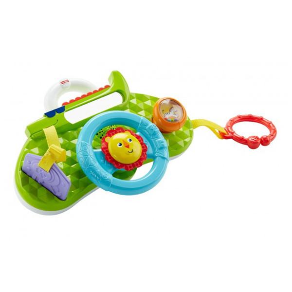Купить Mattel Fisher-Price DYW53 Фишер Прайс Обучающий руль Львенок , Развивающие игрушки для малышей Mattel Fisher-Price