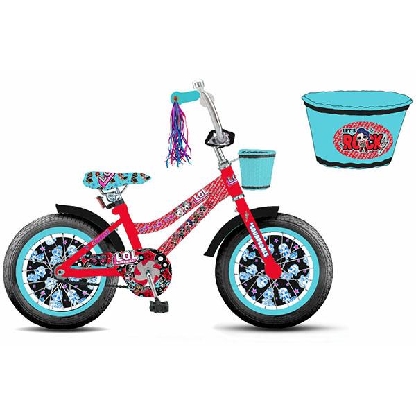 Самокаты 1toy Самокаты — 1toy BH20218 Детский велосипед LOL