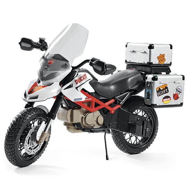 Детский электромотоцикл Peg-Perego MC0021 DUCATI Hypercross, арт:148041 - Мотоциклы, Электромобили