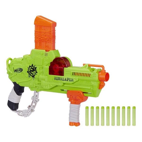 Купить Hasbro Nerf E0311 Нерф Зомби Страйк Реврипер, Игрушечное оружие и бластеры Hasbro Nerf