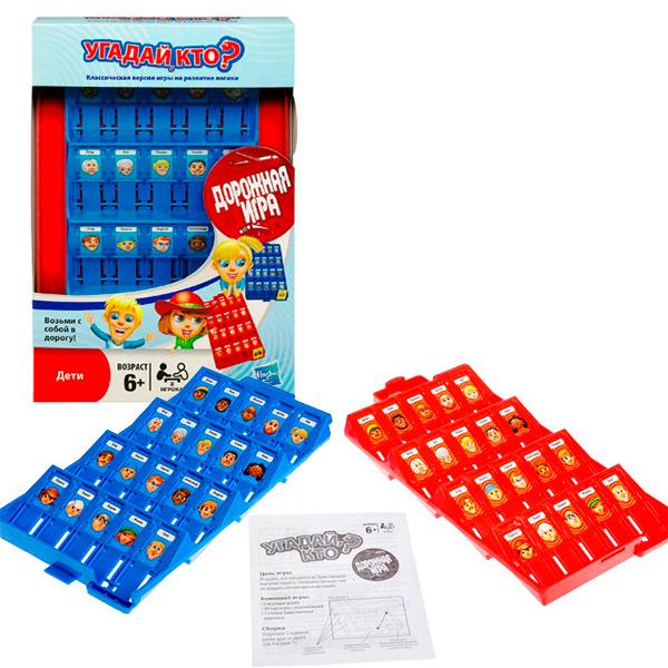 Купить Hasbro Other Games B1204 Угадай кто? Дорожная игра, Настольная игра Hasbro Other Games
