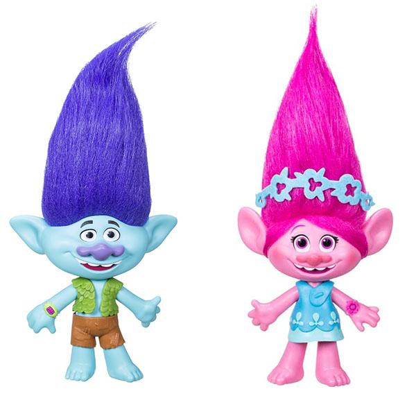Игровые наборы и фигурки для детей Hasbro Trolls - Любимые герои, артикул:151101