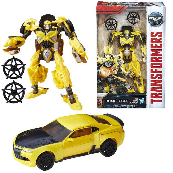 Фигурка трансформер Hasbro Transformers C0887/C1320 Трансформеры 5: Делюкс Бамблби