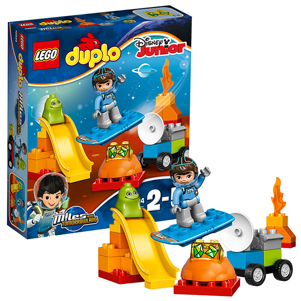 Купить LEGO DUPLO 10824 Конструктор ЛЕГО ДУПЛО Космические приключения Майлза, Конструктор LEGO