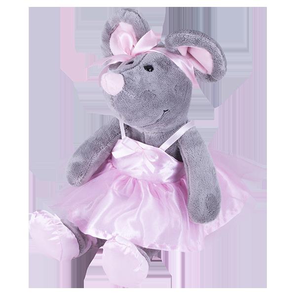 Мягкие игрушки SOFTOY — SOFTOY S885/15 Мягкая игрушка Мышка, 26см