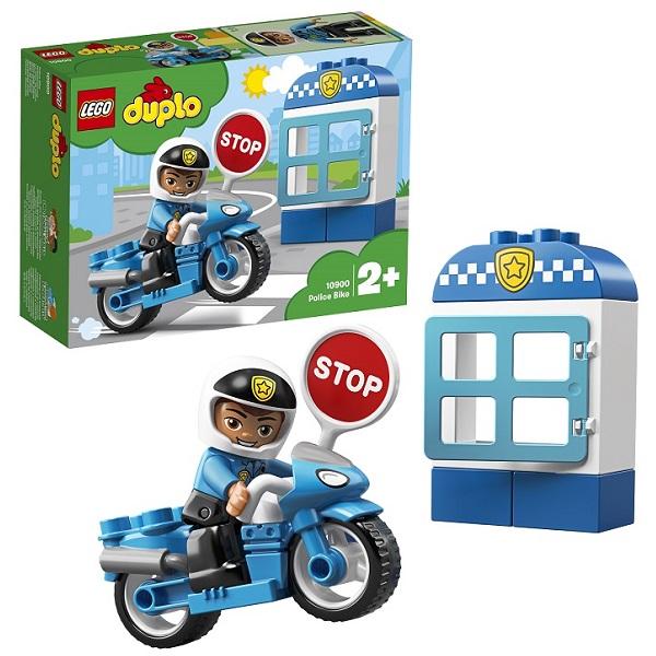 Купить Lego Duplo 10900 Конструктор Лего Дупло Полицейский мотоцикл, Конструкторы LEGO