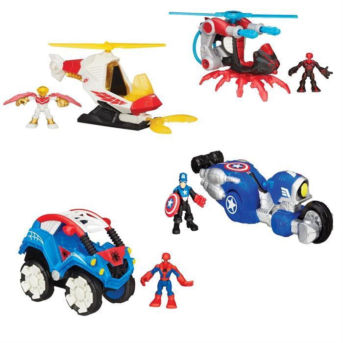 Hasbro Playskool Heroes B0230 Марвел фигурка и транспортное средство (в ассортименте), арт:141335 - Супергерои, Игровые наборы