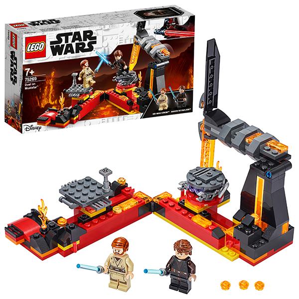 Купить LEGO Star Wars 75269 Конструктор ЛЕГО Звездные войны Бой на Мустафаре, Конструкторы LEGO