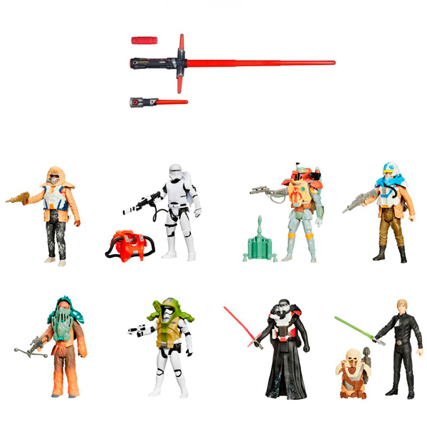 Hasbro Star Wars B2948N Звездные Войны Световой меч делюкс + фигурка - Звездные Войны, артикул:151464