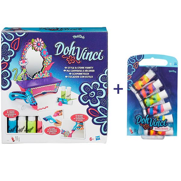 """Набор для творчества Hasbro Dohvinci Dohvinci A7197X Игровой набор для творчества """"Стильный туалетный столик"""" + подарок A7197X"""