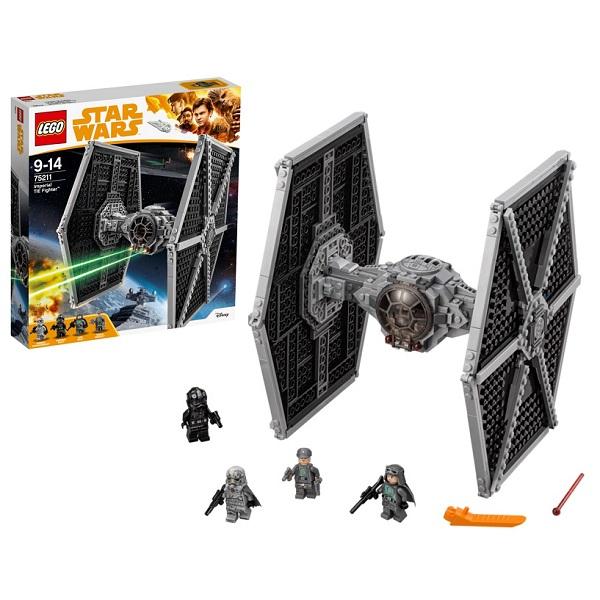 Lego Star Wars 75211 Конструктор Лего Звездные Имперский истребитель СИД, арт:153860 - Звездные войны, Конструкторы LEGO
