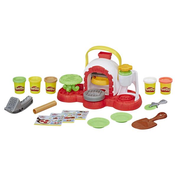 Купить Hasbro Play-Doh E4576 Игровой набор масса для лепки Печем Пиццу , Игровые наборы и фигурки для детей Hasbro Play-Doh