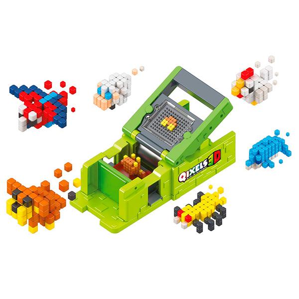 "Qixels 87053 Квикселс Набор для творчества Машинка для создания 3D фигурок ""3D Принтер"""