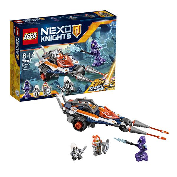 Lego Nexo Knights 70348 Конструктор Лего Нексо Турнирная машина Ланса, арт:145686 - LEGO, Конструкторы для мальчиков и девочек