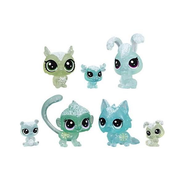 Купить Hasbro Littlest Pet Shop E5483 Игровой набор 7 петов Холодное царство , Игровые наборы и фигурки для детей Hasbro Littlest Pet Shop