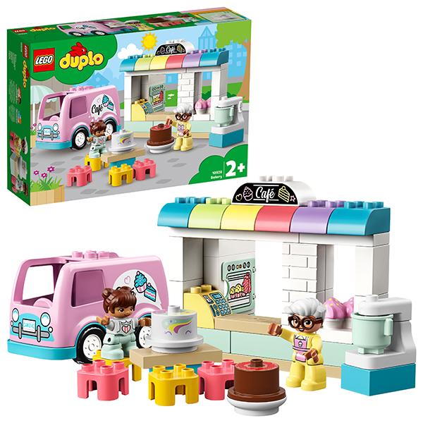 Купить LEGO DUPLO 10928 Конструктор ЛЕГО ДУПЛО Пекарня, Конструкторы LEGO