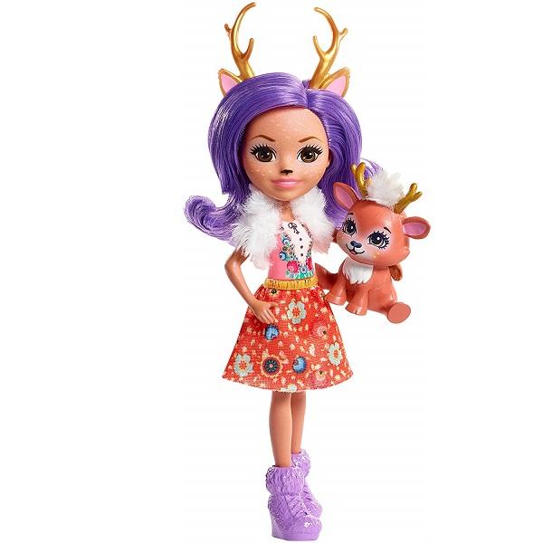Купить Mattel Enchantimals FNH23 Кукла Данесса Оления, 15 см, Куклы и пупсы Mattel Enchantimals