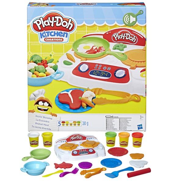 Купить Hasbro Play-Doh B9014 Игровой набор Кухонная плита , Пластилин Hasbro Play-Doh