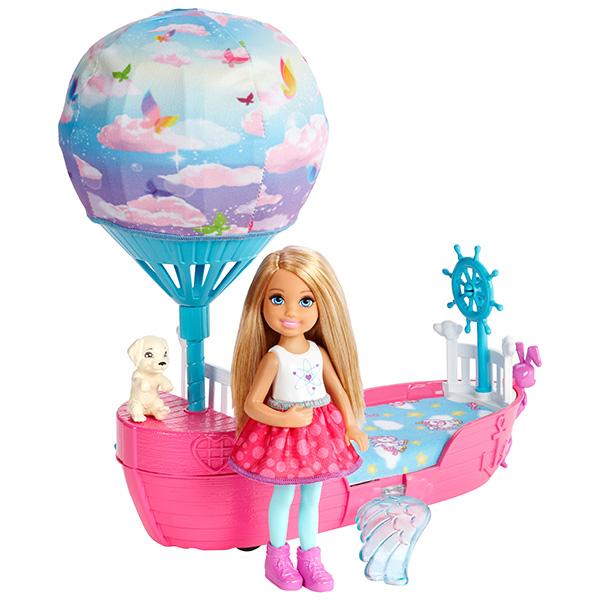 Купить Mattel Barbie DWP59 Барби Волшебная кроватка Челси, Кукла Mattel Barbie